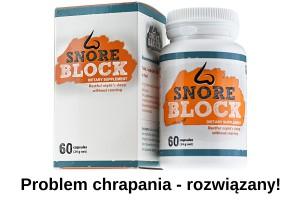 SnoreBlock problem chrapania rozwiązany