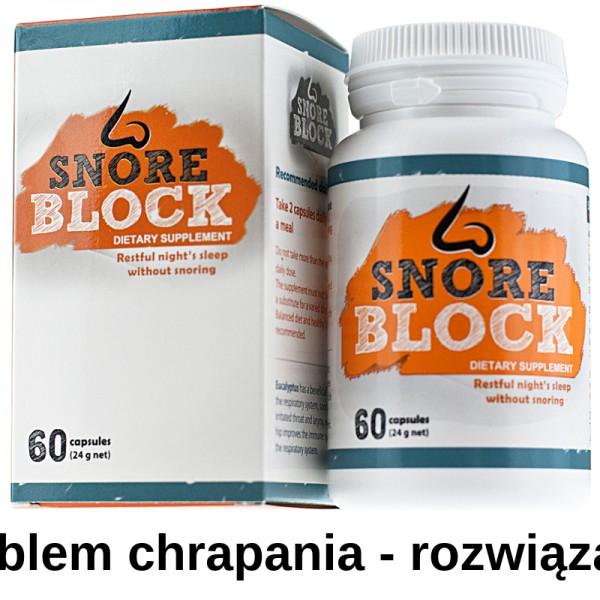 Snore Block ™ – przestań chrapać