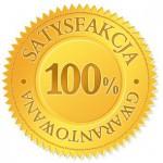 100% gwarancji satysfakcji